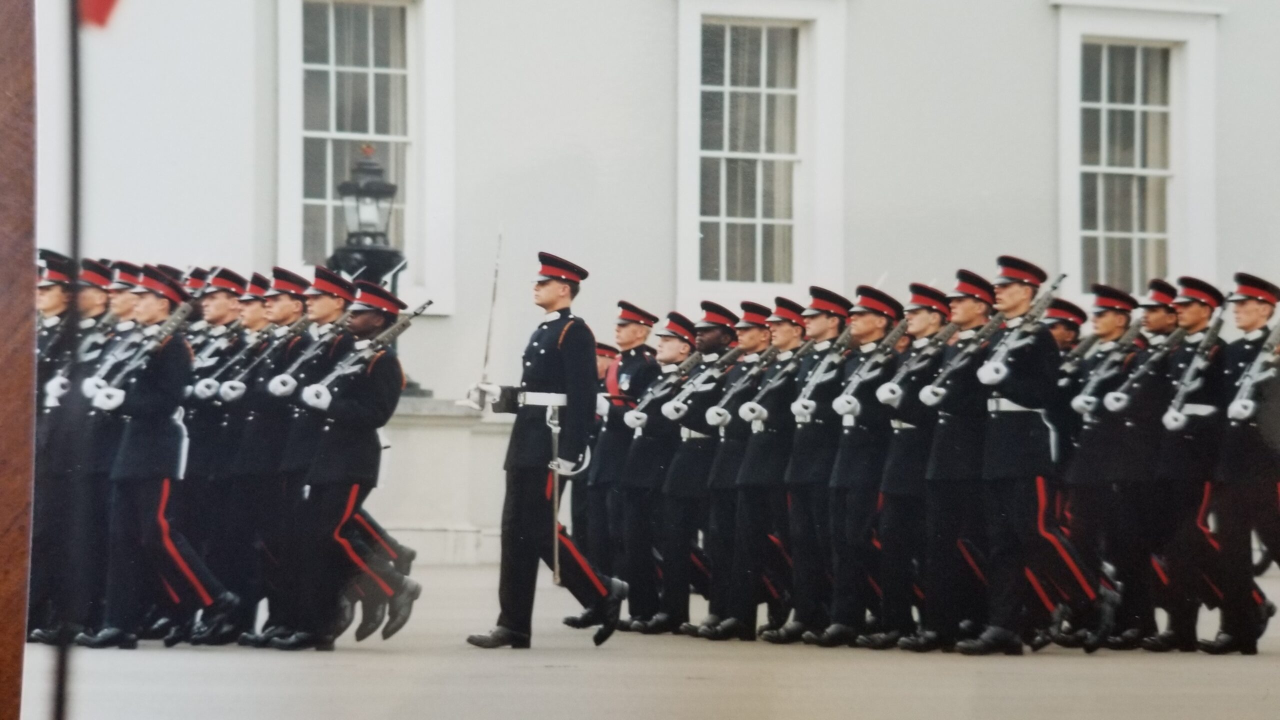 sandhurst parade scaled Nigel Yates Official Homepage Nigel